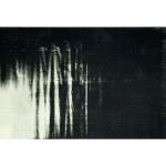 """Disturbing the Night with an Exhale (2007, 12x21"""", 19x27"""")"""