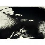 "Underneath Cottonwood #2 (1996, 24x36"", 31x42"")"