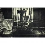 """Sliding Behind the Hidden Door (2009, 11x20"""", 19x26"""")"""