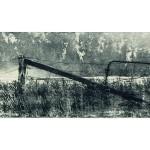 "Cemetery Margin (1999, 9x23"", 16x29"")"