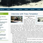 Tracy Templeton Interview at Nicolaus Copernicus University Website