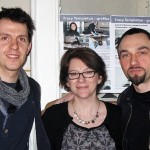 Tracy Templeton with Colleagues in Torun, Poland